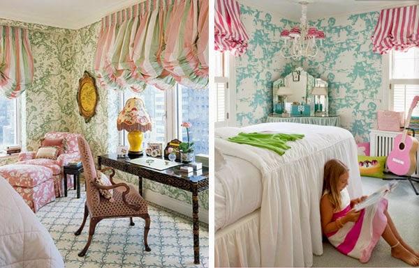 English curtains design