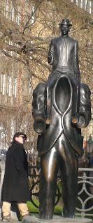 Mario Fattorello monumento a Kafka