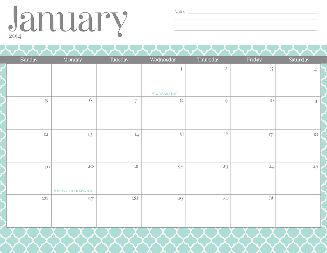 Cute February 2014 Calendar Chevron Images & Pictures - Becuo