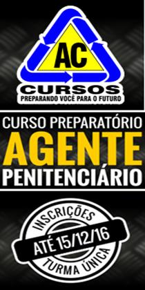 AC CURSO - PREPARATÓRIO AG PENITENCIÁRIO 2017