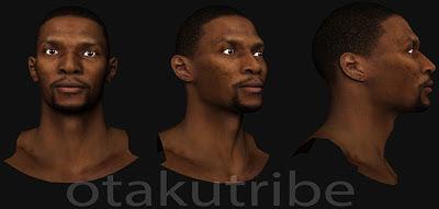 NBA 2K13 Chris Bosh Cyberface Patch