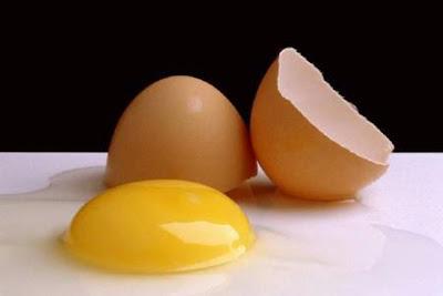 شاهد شكل البيضة عند كسرها في قاع البحر..بالفيديو !!! - بيضة مكسورة broken egg