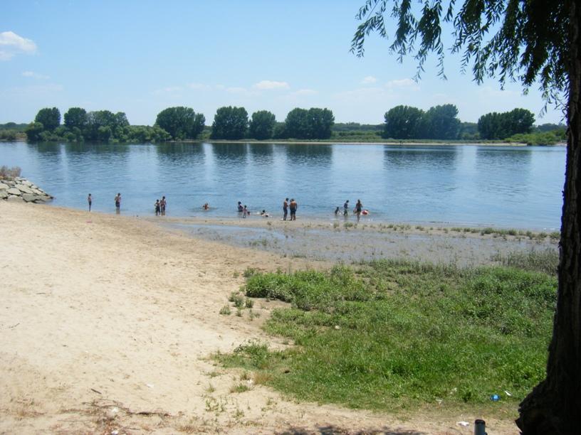 Praia Fluvial de Valada - Maré baixa
