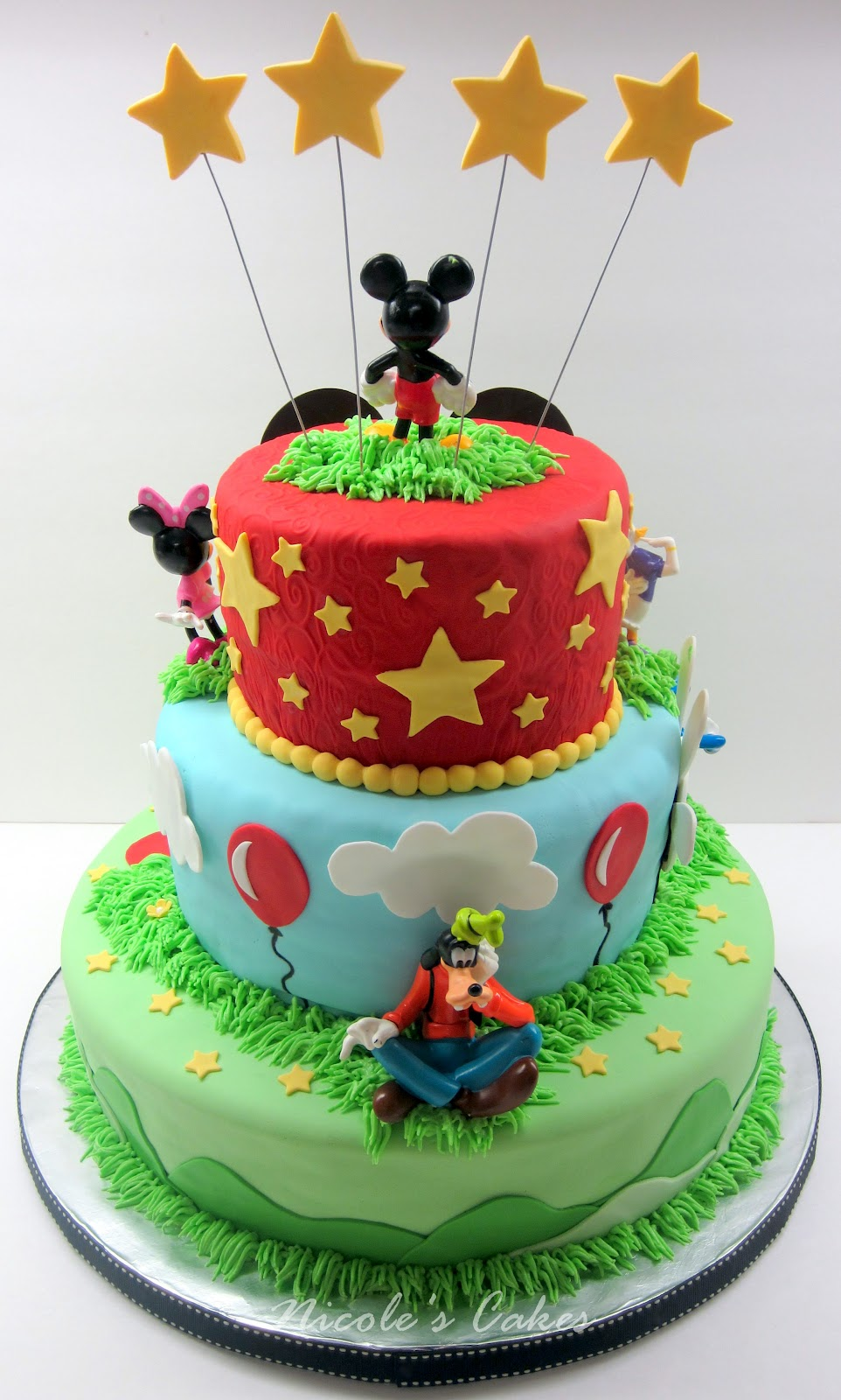 Confections, Cakes & Creations!: Mickey Mouse Clubhouse: 3 ...