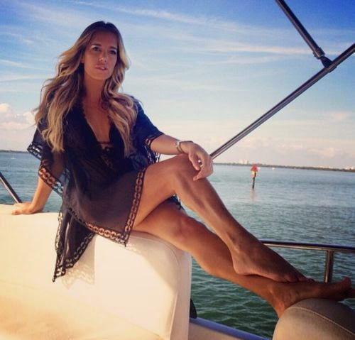Sylvie Meis Greetings from vacation
