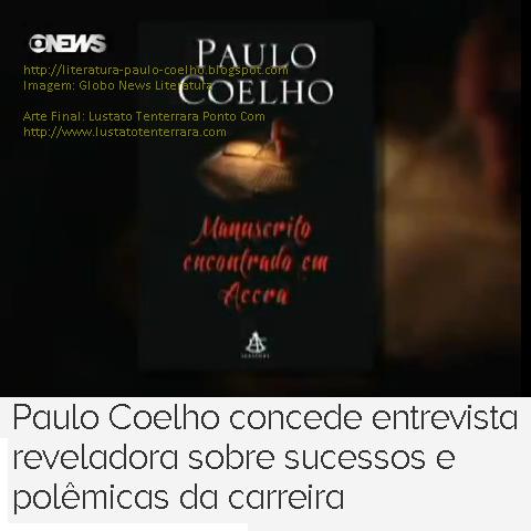 Capa do mais recente livro de Paulo Coelho, Manuscrito Encontrado em Accara