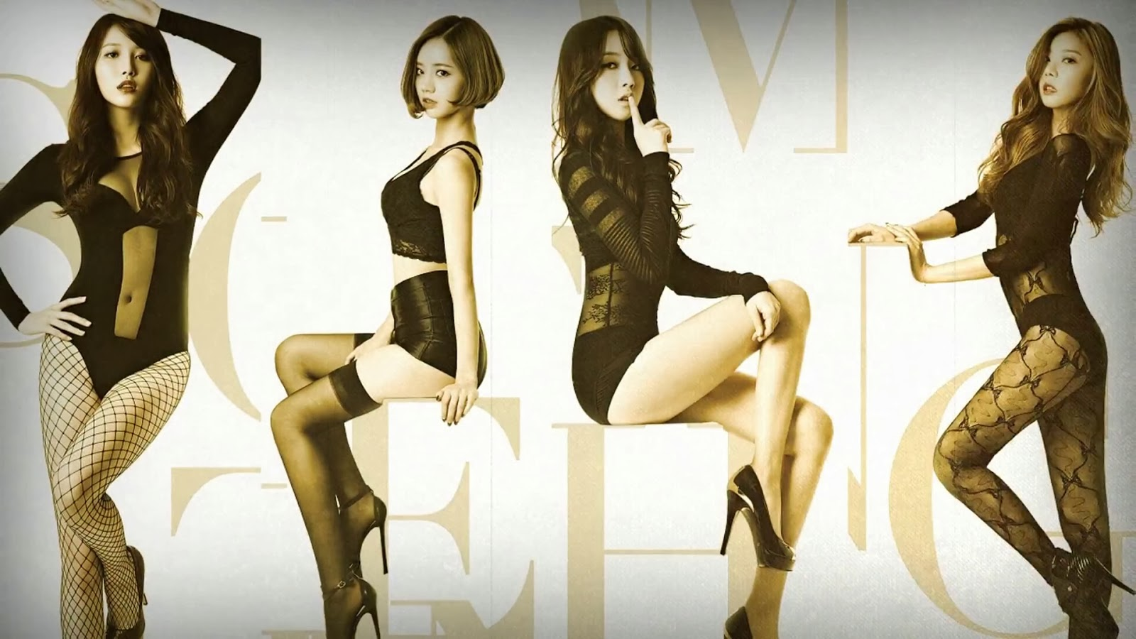 Girl's Day Something Concept Wallpaper HD