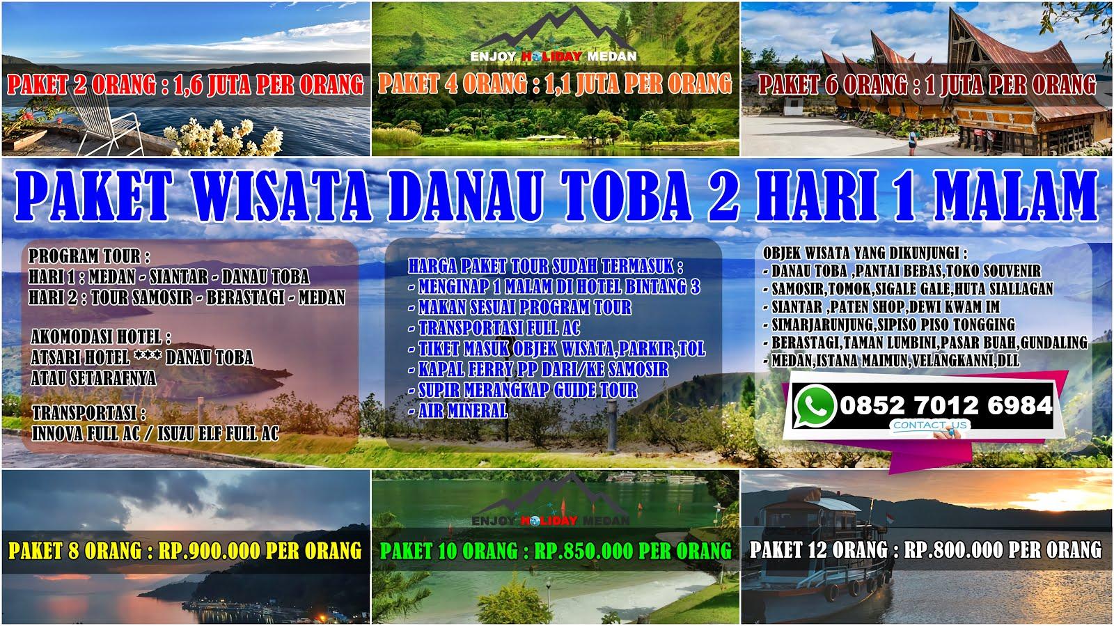 paket wisata danau toba 2 hari 1 malam