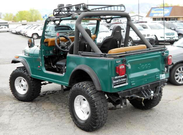On The Road With Zoom Custom 1985 Jeep Cj 7 One Of A