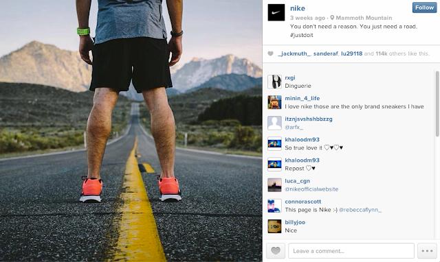 5 claves que explican el éxito de Nike en Instagram