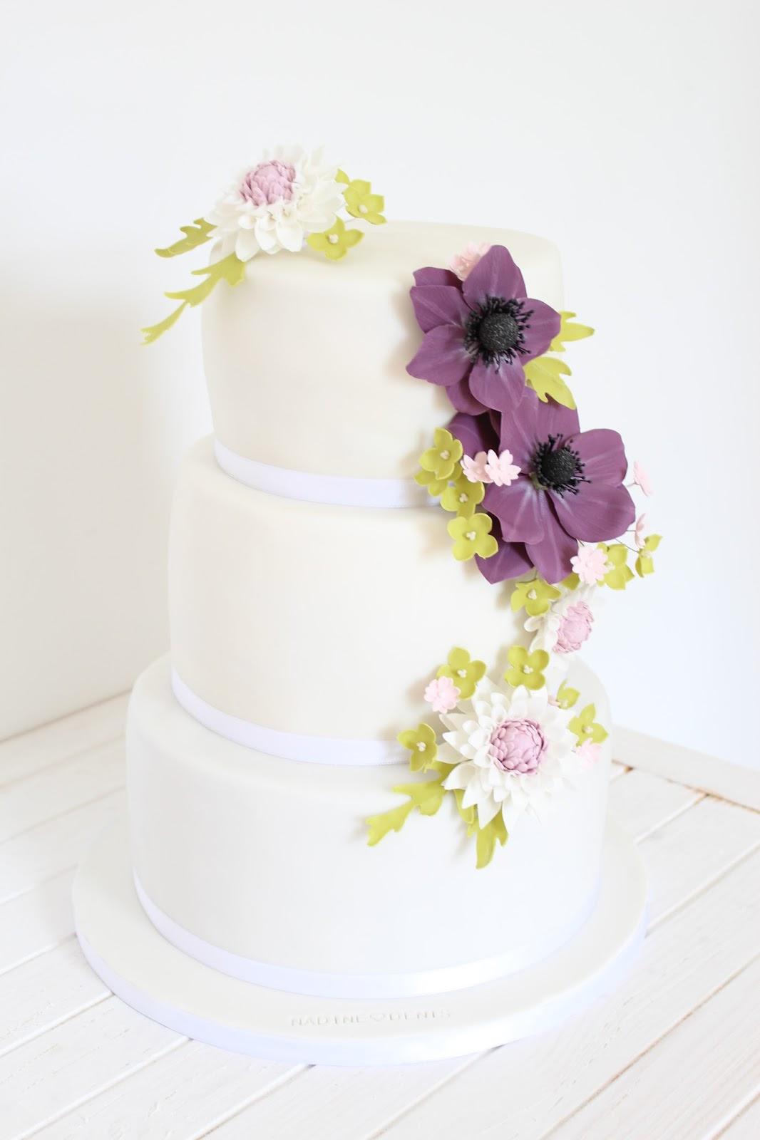 Brilliant Hochzeitstorte Lila Beste Wahl Und Heute Gibt Es Erstmal Nach Dem