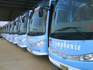 Bus Pariwisata Blue