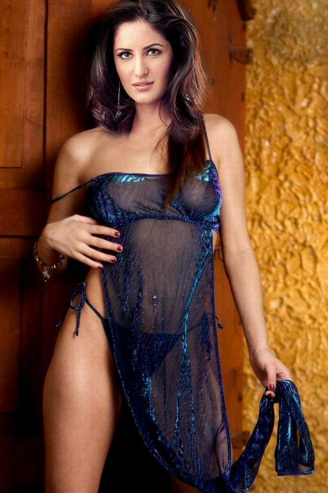 Teen sheer negligee