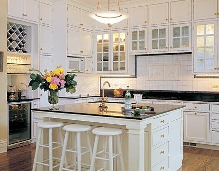 Pembe g nl m sende mutfak modelleri - Simple contemporary kitchen design ideas for your lovely family ...