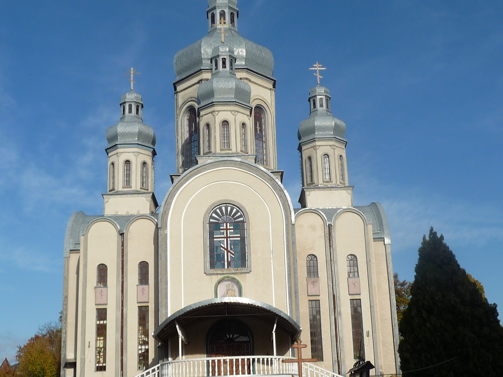 Самбор. Церковь Святителя Петра Конашевича