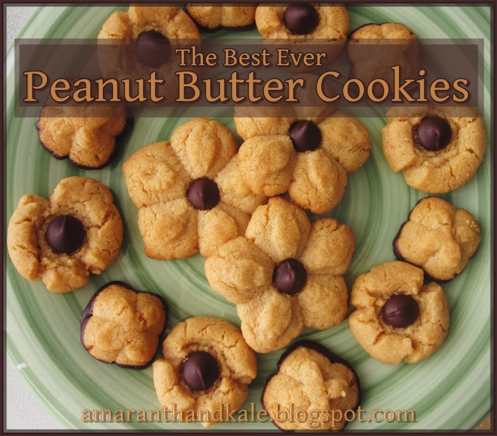 Amaranth & Kale: Best Ever Peanut Butter Cookies
