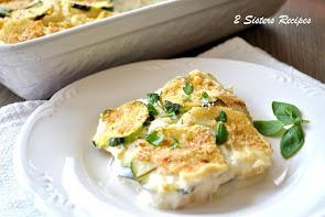 Italian Potato & Zucchini Au Gratin