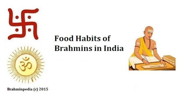 Food Habits of Brahmins in India