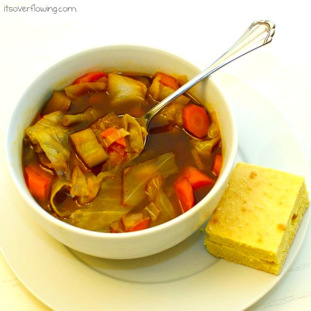 Garden vegetable soup its overflowing for Garden vegetable soup