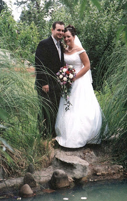 Chris and Jill Plumb's wedding in July 2003.