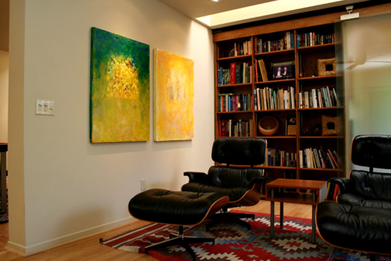 Home interior designs reading room design for Home library designs interior design