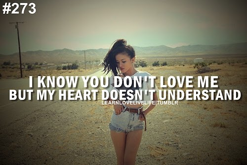 But i still love you