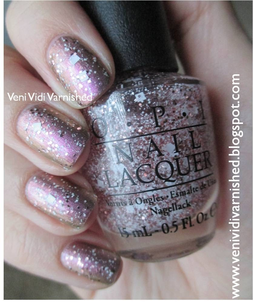 OPI Soft Shades 2014 Muppets Most Wanted Let's Do Anything We Want International Crime Caper Duochrome Glitter