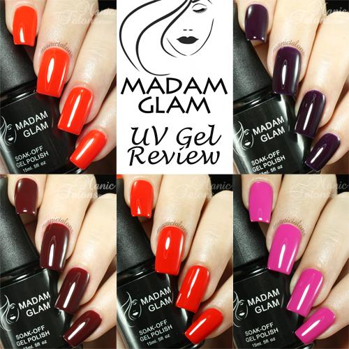Madam Glam UV Gel Review