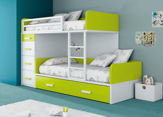 Muebles ros kids up 2 for Camas para espacios reducidos