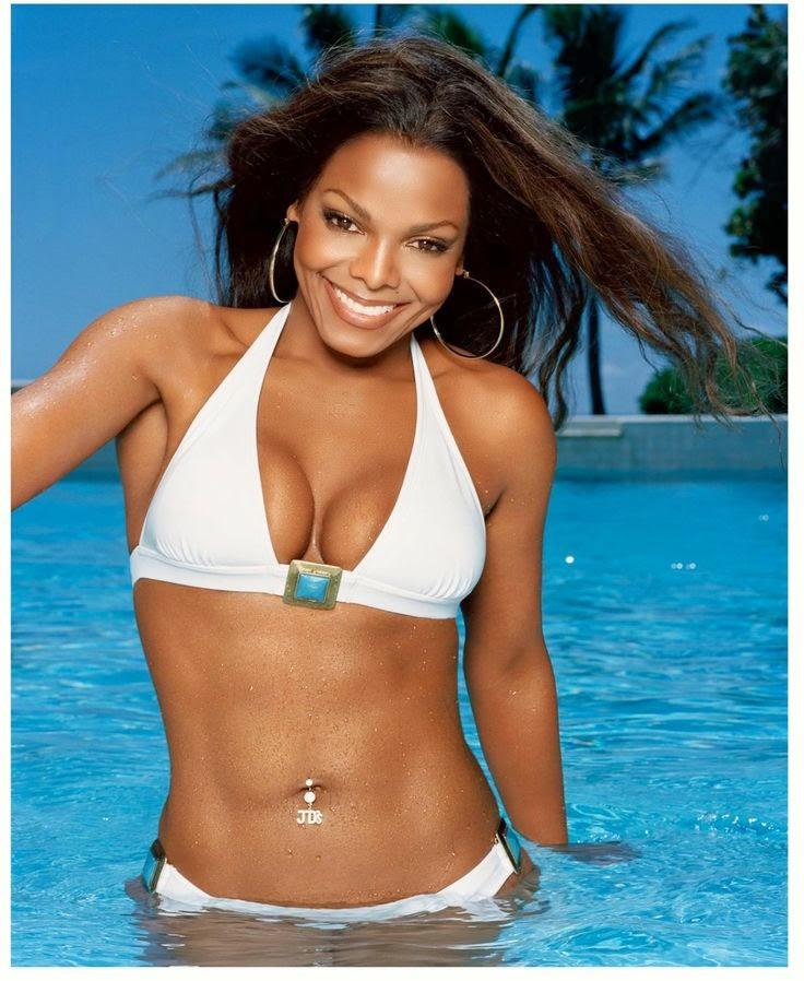 Janet Jackson In Bikini