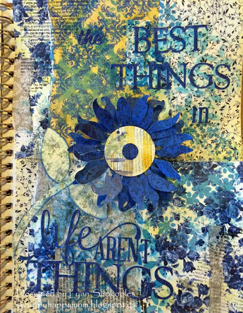 The Best Things In Life Arent Things by Lynn Shokoples for BoBunny featuring the Genevieve Collection