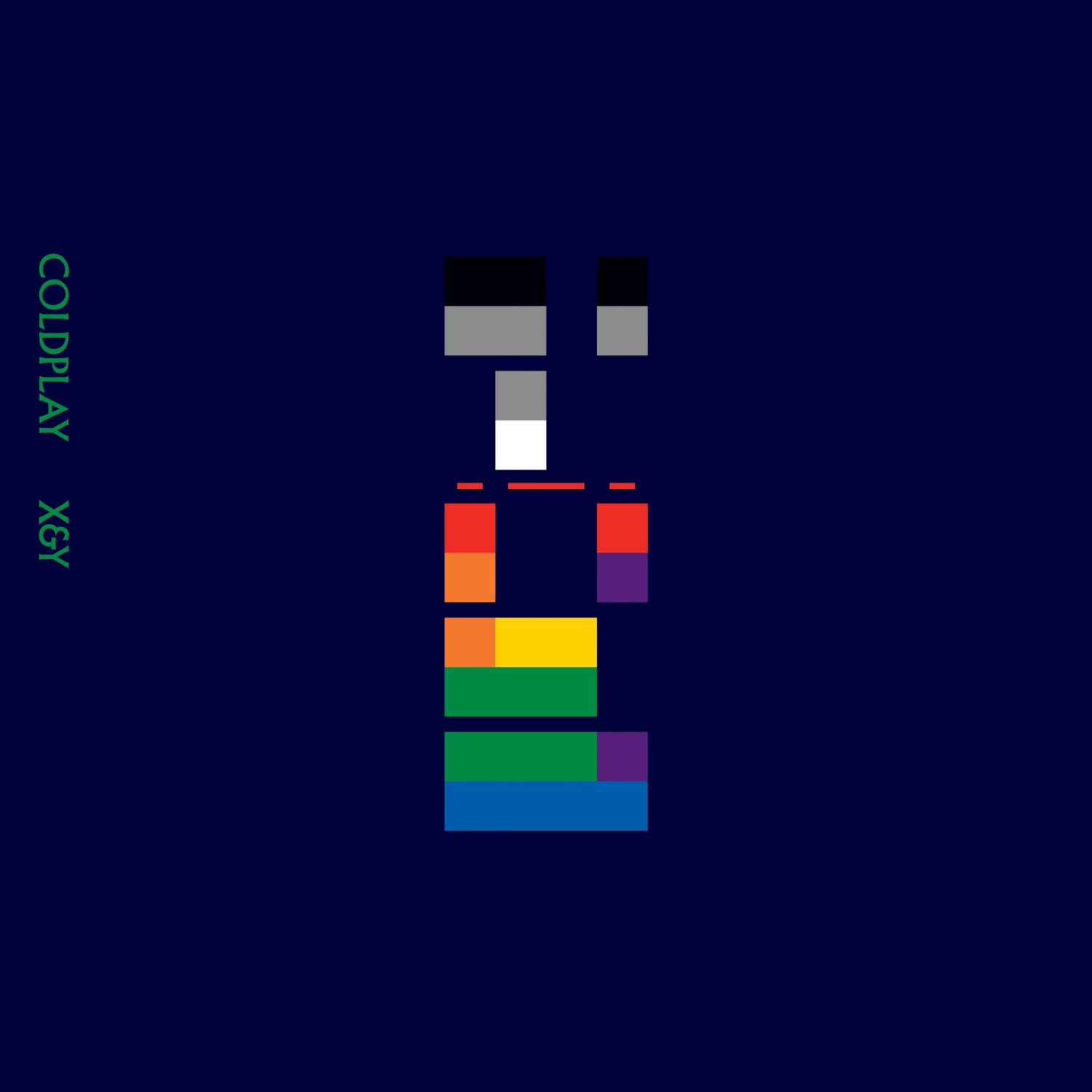 Cam Whitelaw Media: Album Cover Analysis 1 - X&Y (Coldplay) X Album Cover