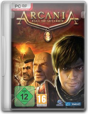 Capa ArcaniA: Fall of Setarrif   PC (Completo) 2011