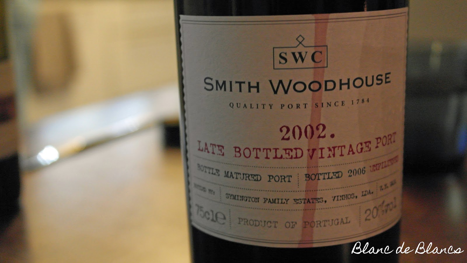 Smith Woodhouse Late Bottled Vintage 2002 - www.blancdeblancs.fi