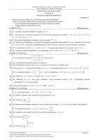 Subiecte matematica M1 bacalaureat 2012