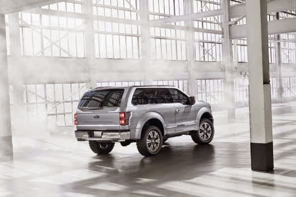 2016 Ford SVT Bronco Concept Car