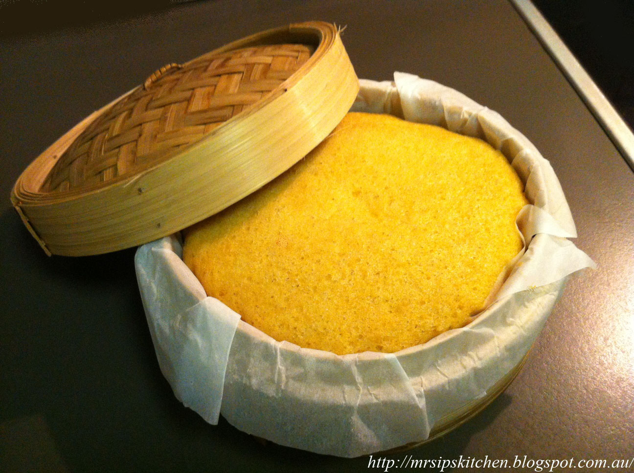 Steam Cake Recipes Pictures : Mrs. Ip s Kitchen: Chinese Steamed Sponge Cake Recipe