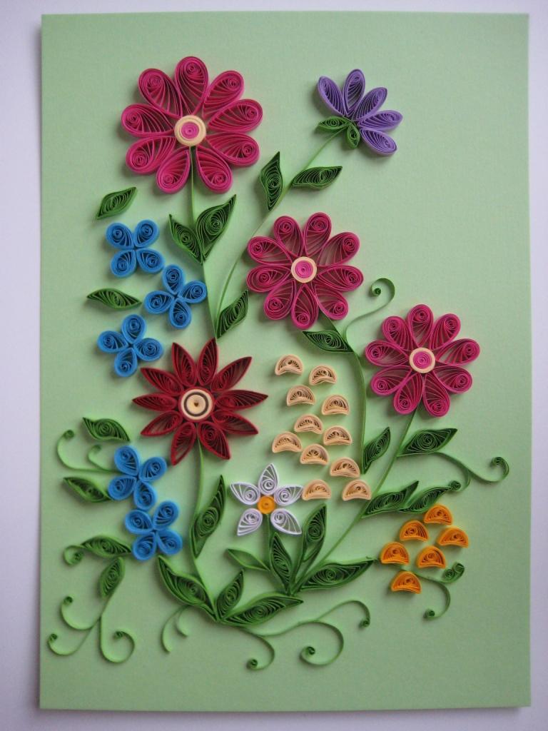 Как сделать панно цветы