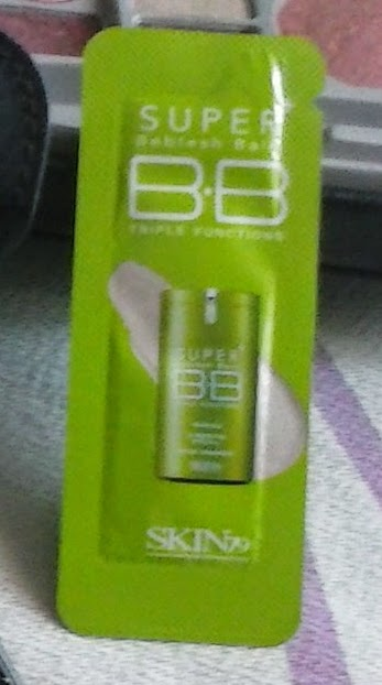 Skin 79 SILKY GREEN SUPER PLUS BEBLESH BALM