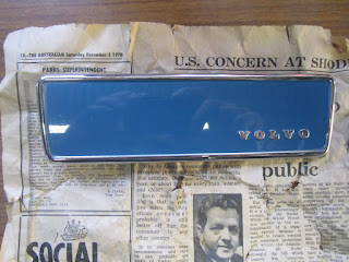 Radio cover Volvo 122S 1969 - Original paint and colour