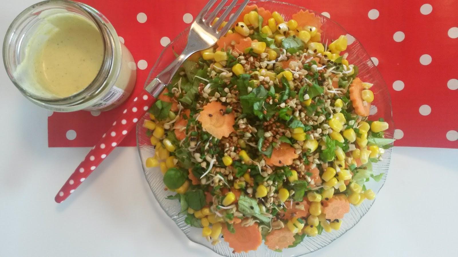 selbstgemachte Salatsoße