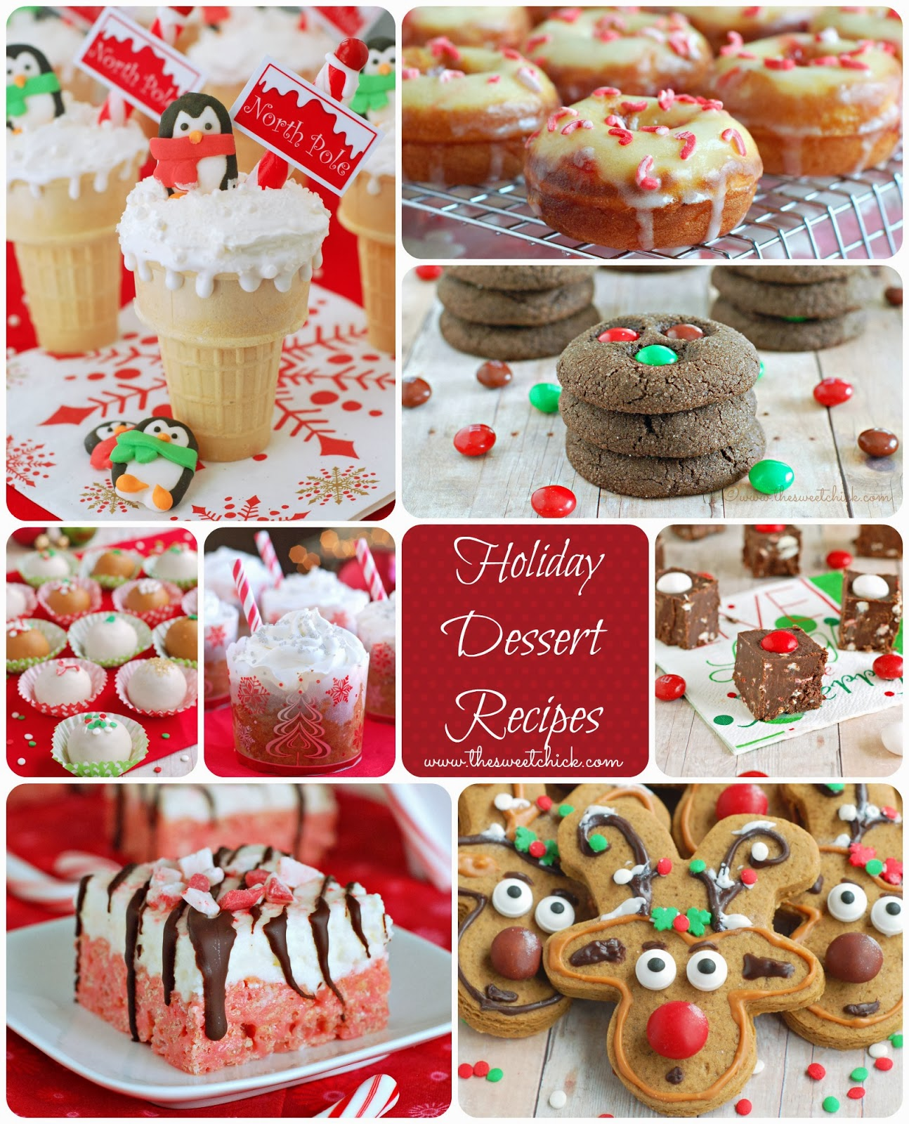 The Sweet Chick Holiday Dessert Recipes 2013