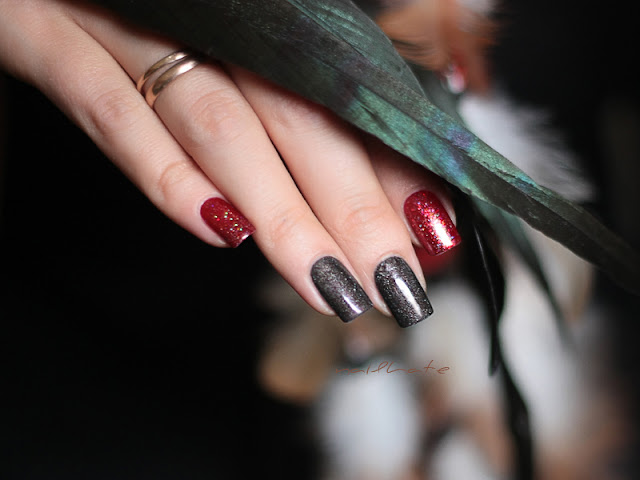 "OPI ""My Private Jet"" + China Glaze ""Ruby Pumps"""