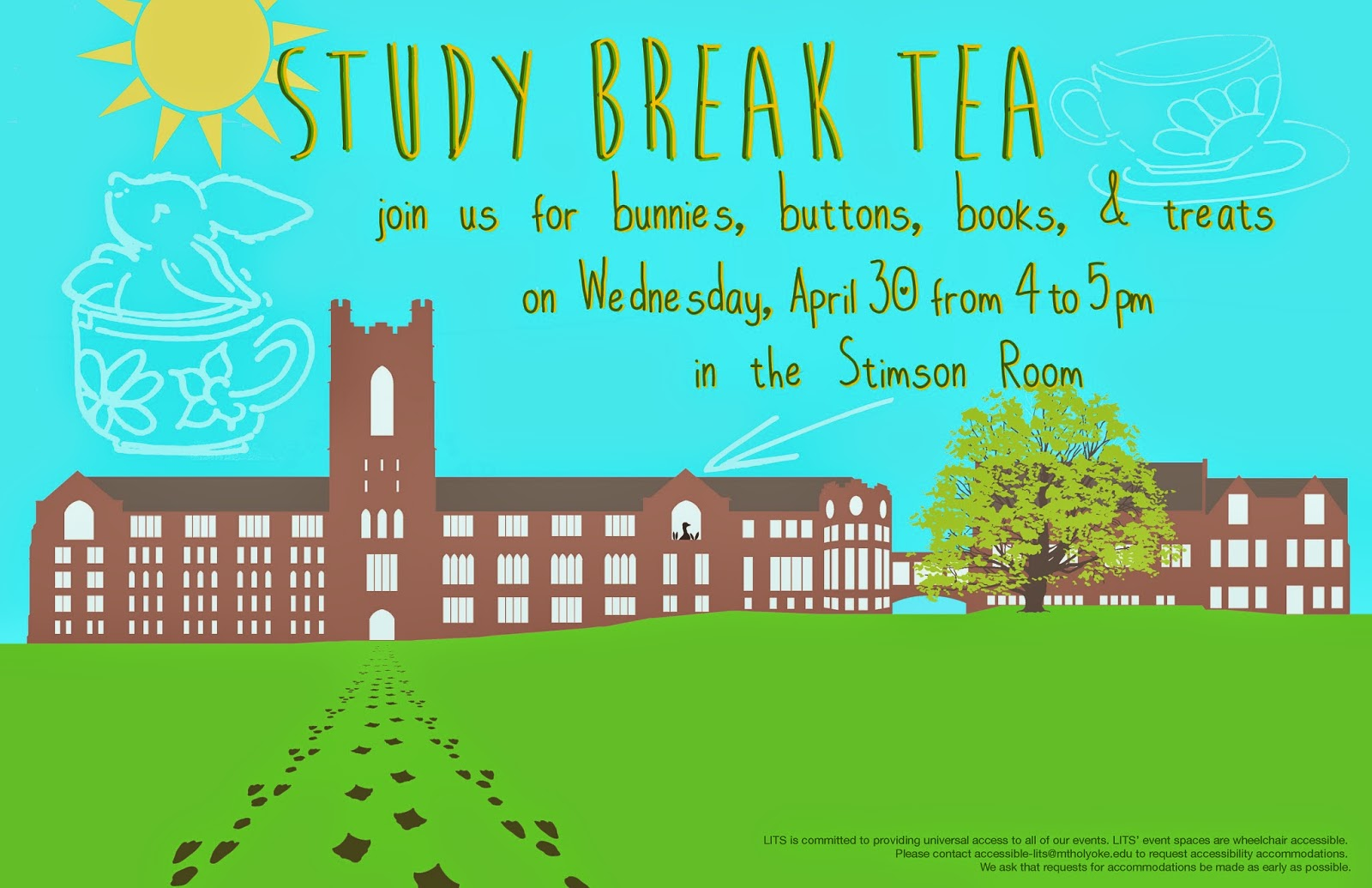 Study Break Tea poster