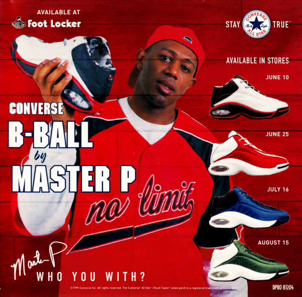 highest level of music: Master P - Converse B-Ball-Promo-CDS-1999