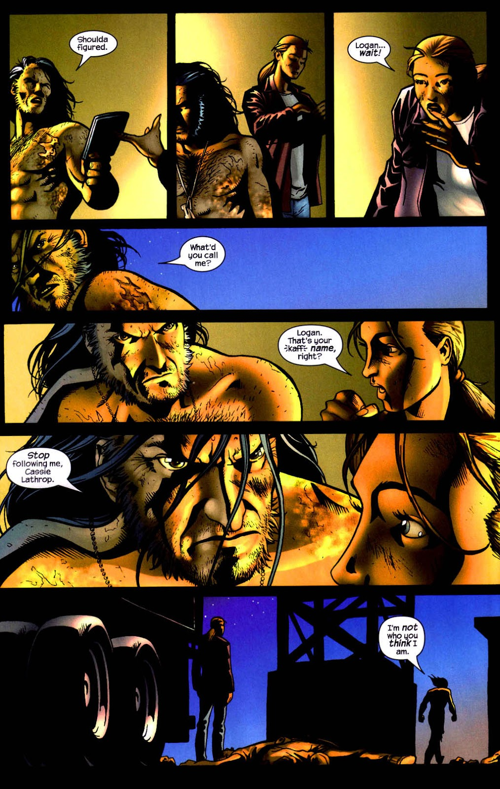 Read online Wolverine (2003) comic -  Issue #8 - 18