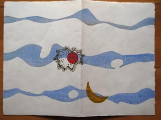 gravure sur bois à la japonaise - Brigitte Rio