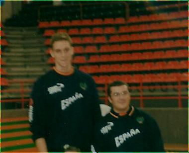 Pau Gasol y Paco García