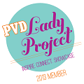 PVD Lady Project Badge