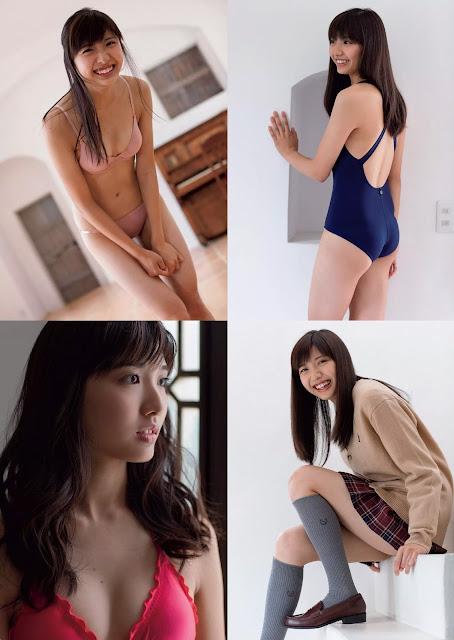 加藤凪海 Kato Nanami 週刊プレイボーイ Weekly Playboy No 7 2016 Images 3